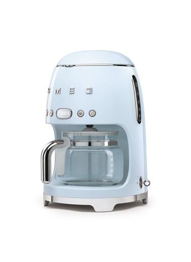 Smeg Pastel Mavi Filtre Kahve Makinesi Mavi